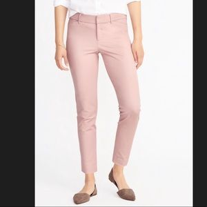 Old Navy Pink Pixie Ankle Pants Size 4 NWT